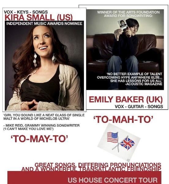 Kira Small andEmily Baker Poster