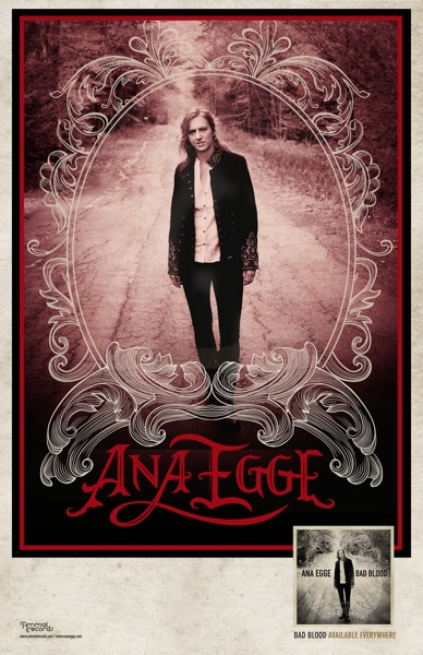 Ana Egge Poster red