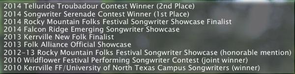 Allie's Awards