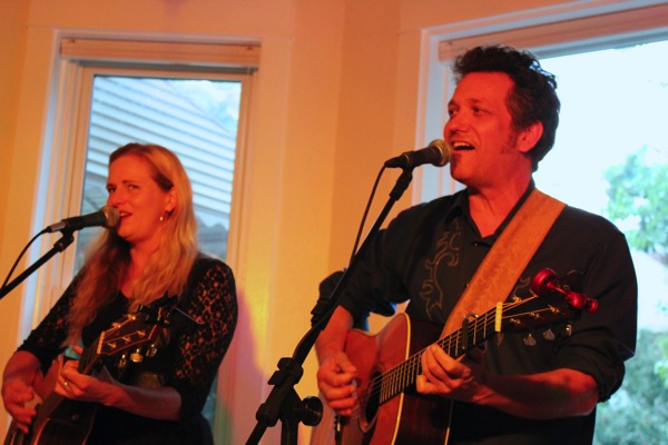 The Flyin' A's at Windy City House Concerts