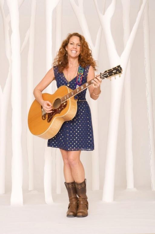 Rebecca Folsom with Guitar